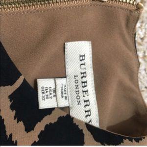 67fe83f7b7484 Burberry Dresses - burberry Animal-Print Silk Dress